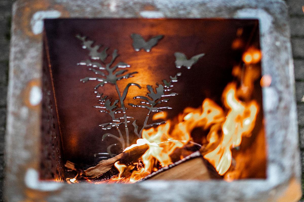 Individuelle Feuerschale Nach Wunsch